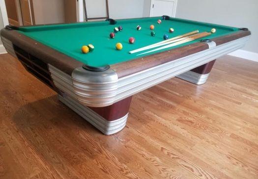 9-Foot-BRUNSWICK-BALKE-COLLENDAR-CENTENNIAL-Pool-Table-For-Sale-Raleigh-NC