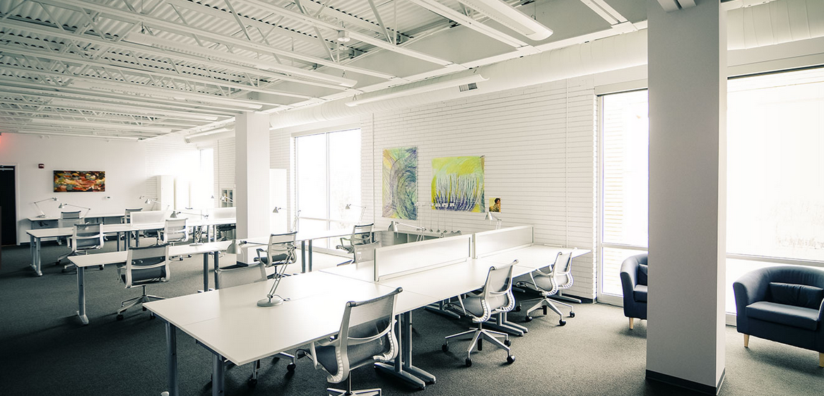 hub coworking area