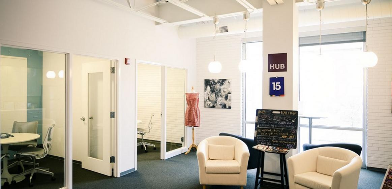 hub reception area