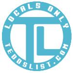 Locals Only teddslist.com Decal