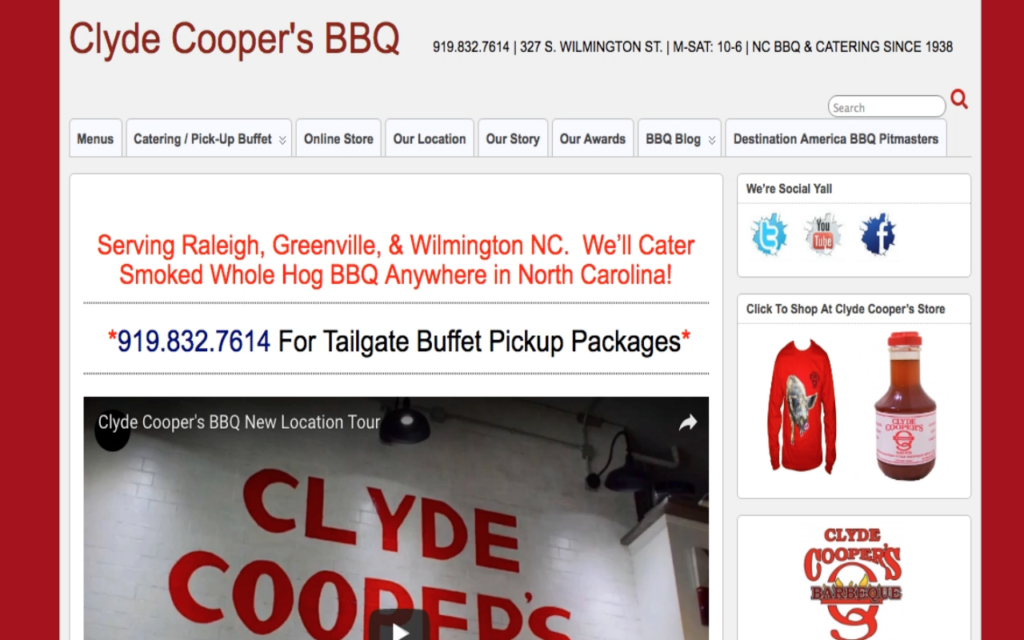 Clyde Coopers BBQ